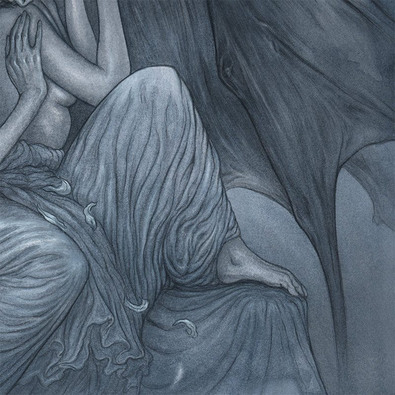 Jason Mowry - Among Dark Wings (Detail 3)