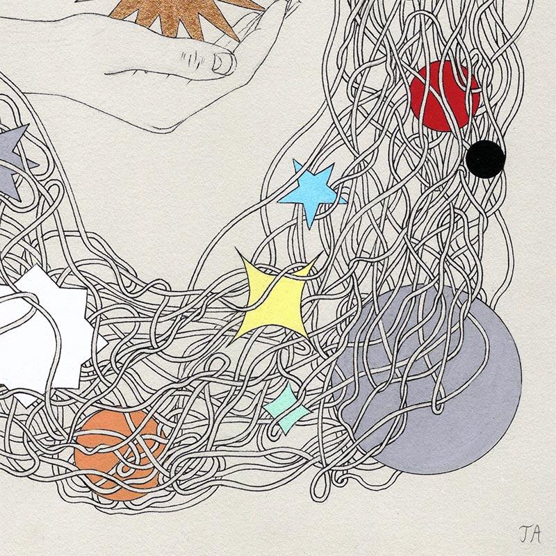 Jenna Andersen - Stardust (Detail 3)