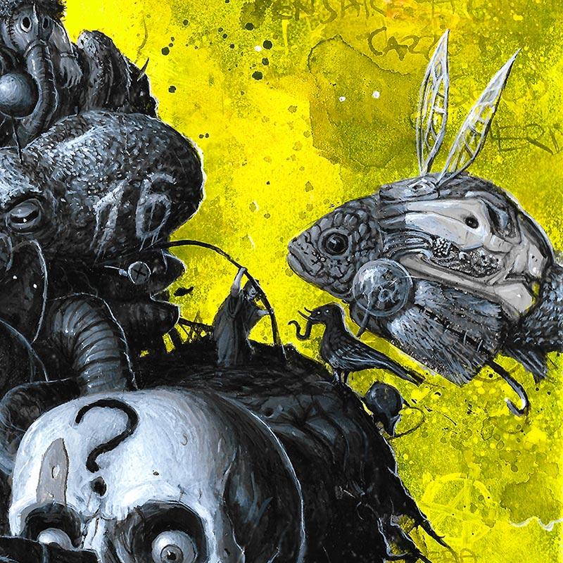 Ronch - White Rabbit (Detail 3)
