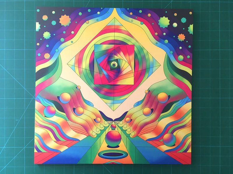Scott Balmer - Marble Madness (Print 1)