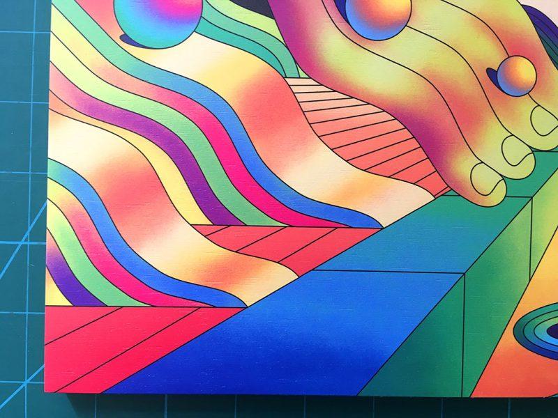 Scott Balmer - Marble Madness (Print 2)