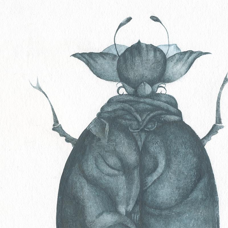 Ana Juan - Hybridus I (Detail 1)
