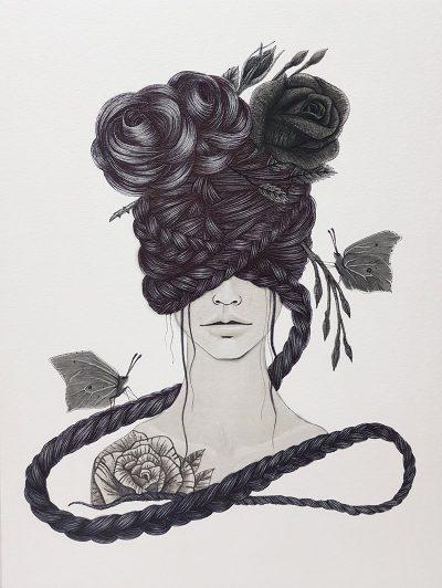 Anne Martwijit - Black Roses