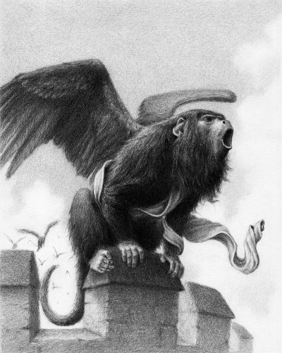 David Alvarez - Winged Monkey