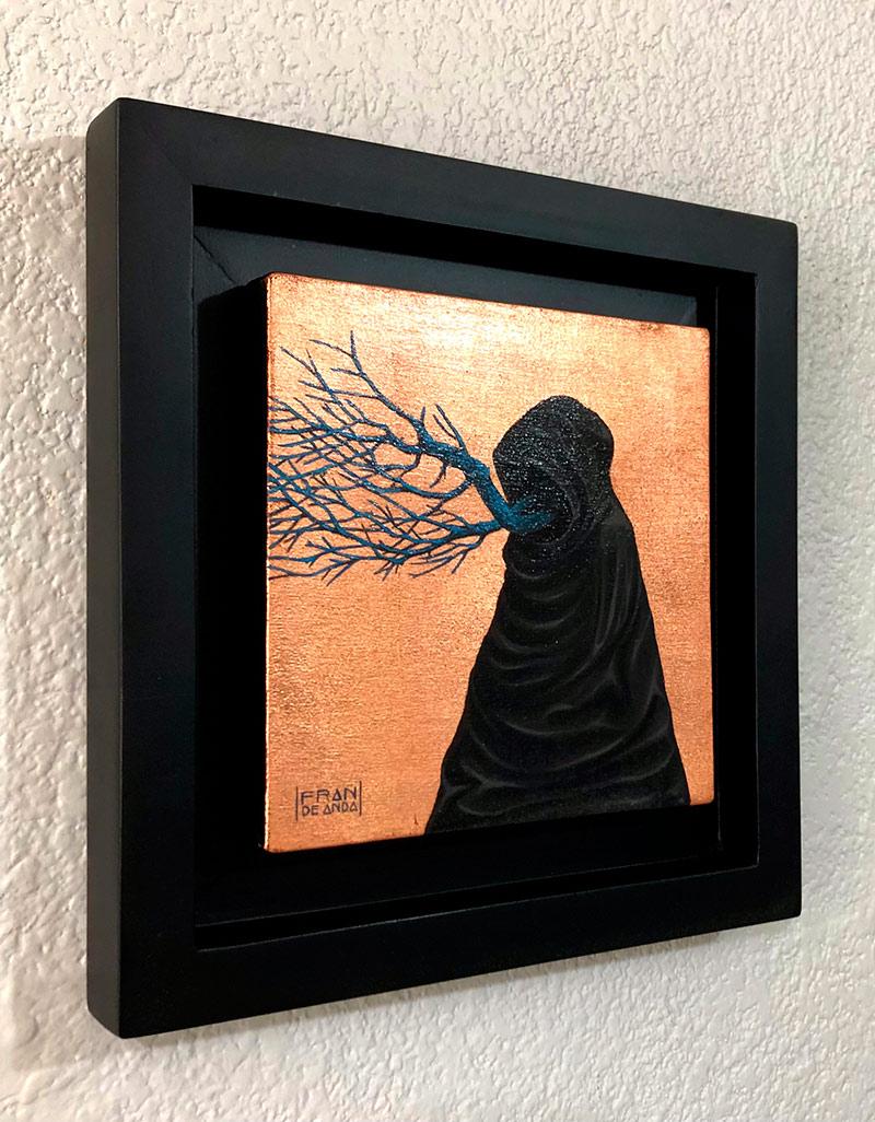 Fran De Anda - El Brujo (The Wizard) - Framed (Side)
