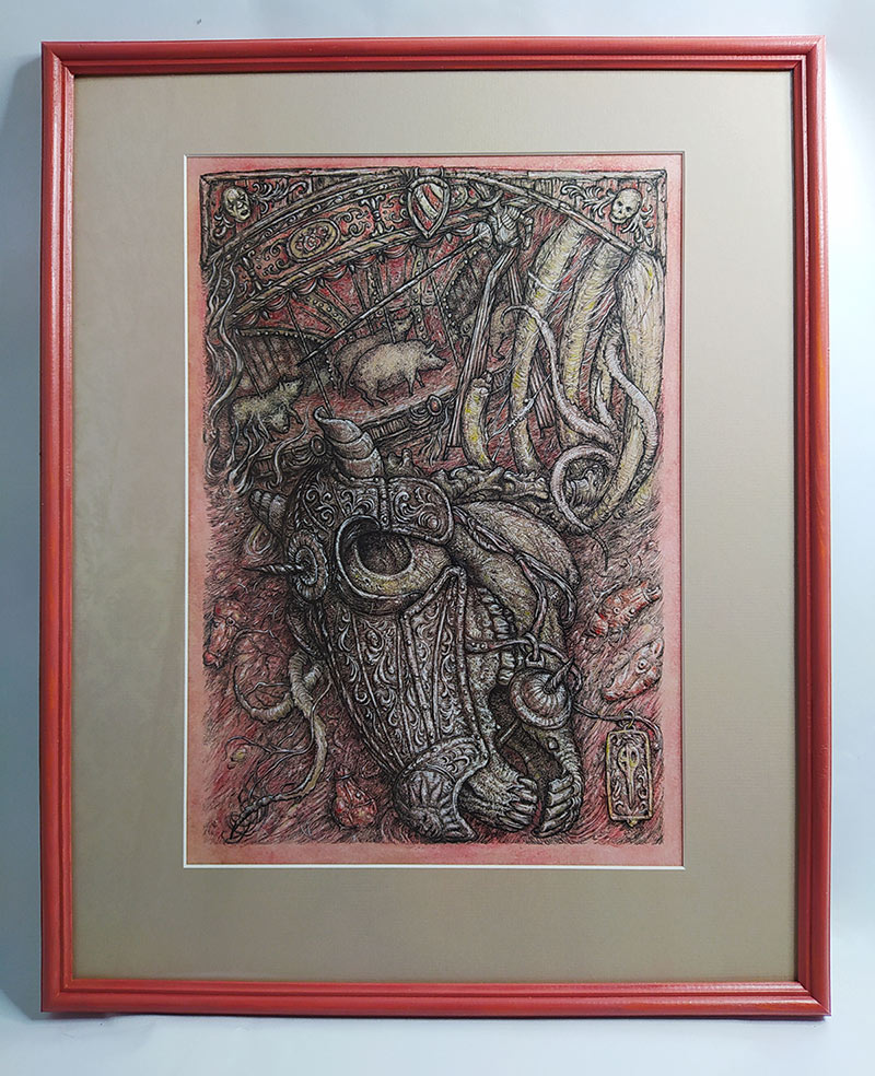 Iurii Aleksandrov - Carousel (Framed)