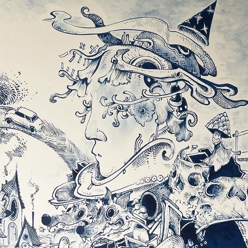 Jackson Dryden - Sandman (Detail 3)