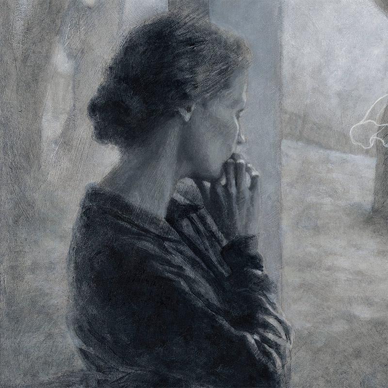 Ken Cunningham - She Watched It Receding (Detail 2)