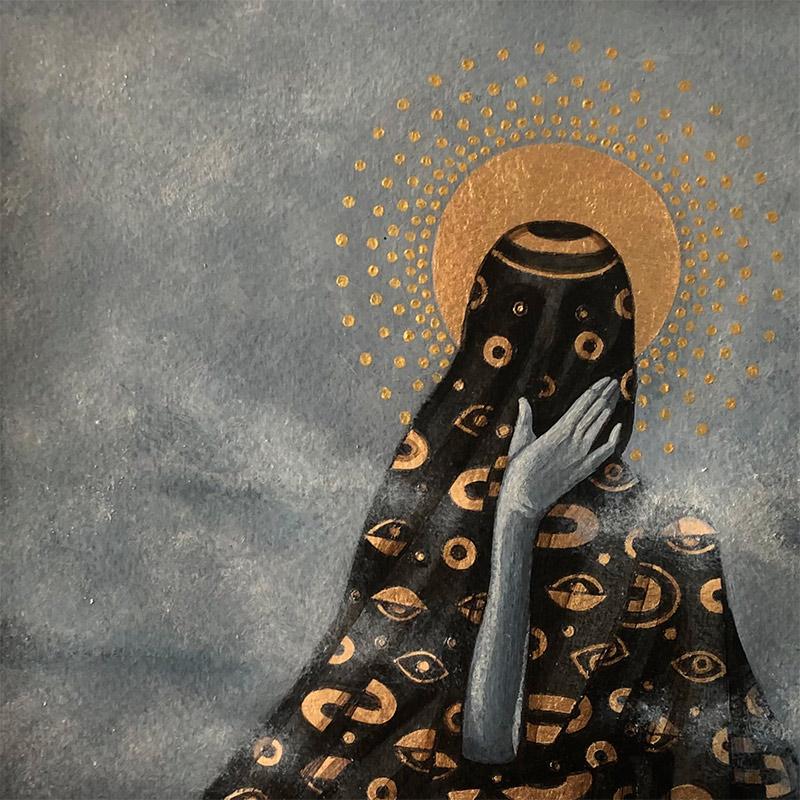 Milka Lolo - Anonymous God (Detail 1)