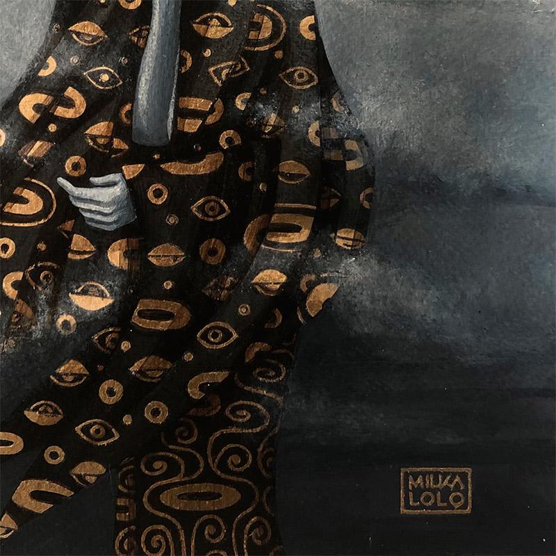 Milka Lolo - Anonymous God (Detail 2)