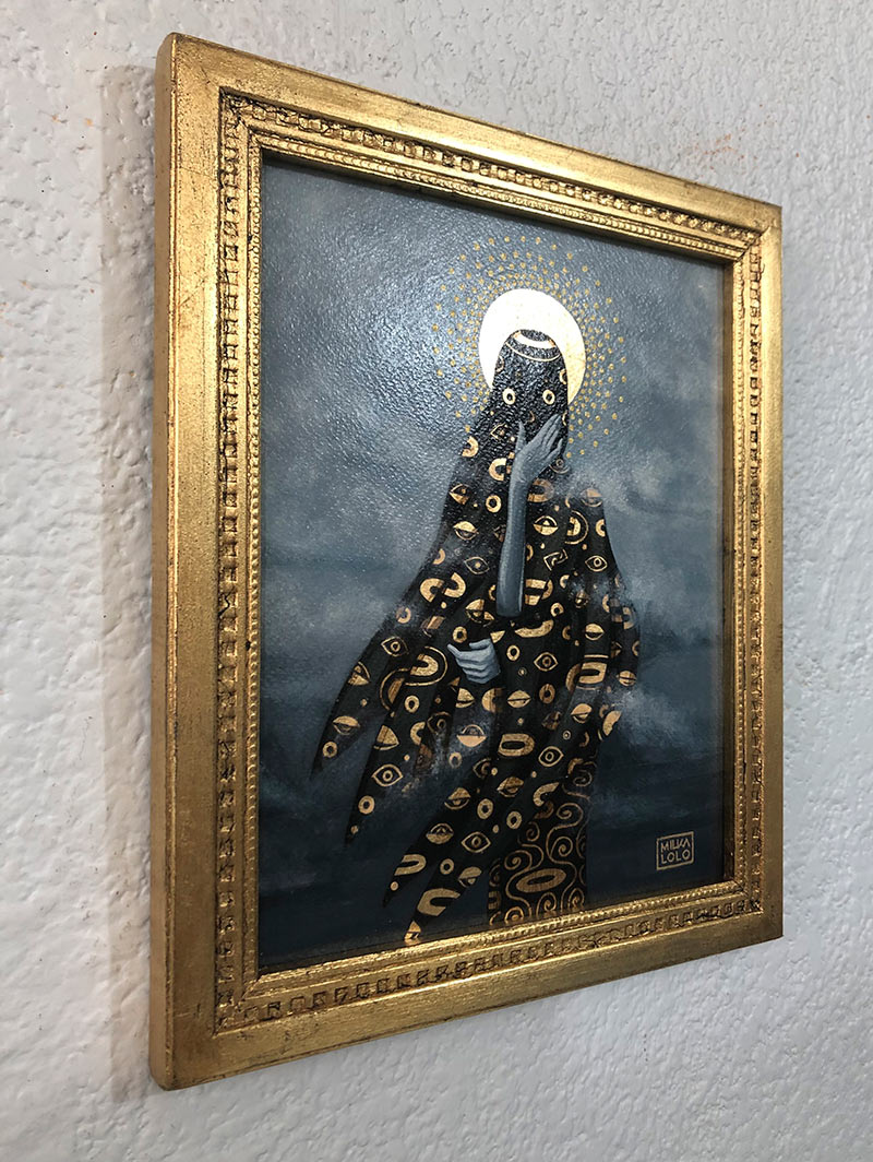 Milka Lolo - Anonymous God (Framed - Side)