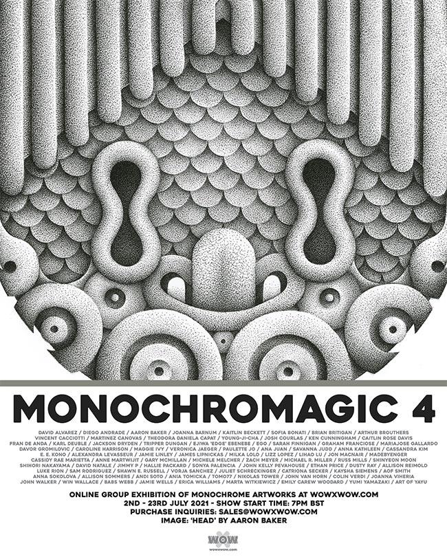 Monochromagic - Flyer (Aaron Baker)