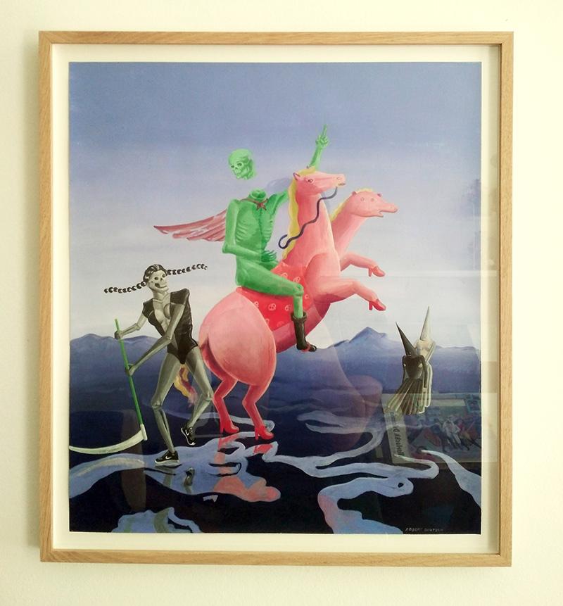 Robert Deutsch - Mighty Mors (Framed)
