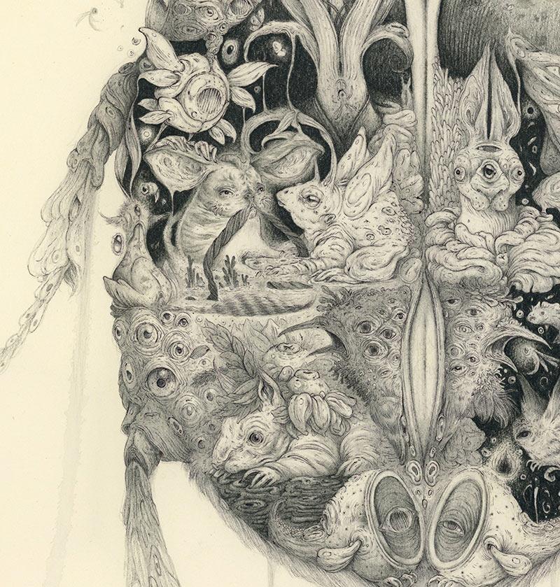Vorja Sanchez - Metamorphosis (Detail 2)
