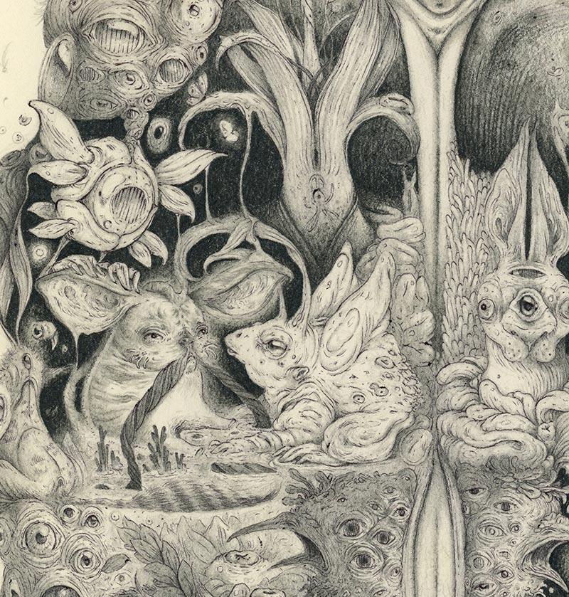 Vorja Sanchez - Metamorphosis (Detail 3)