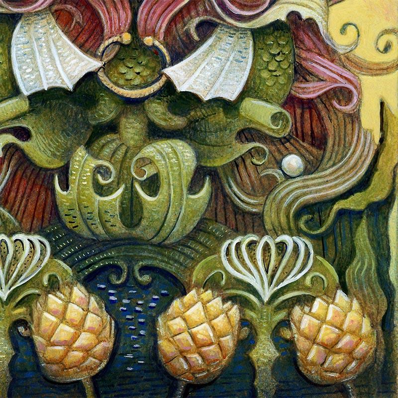 E. E. Kono - Amabie Twisted (Detail 2)