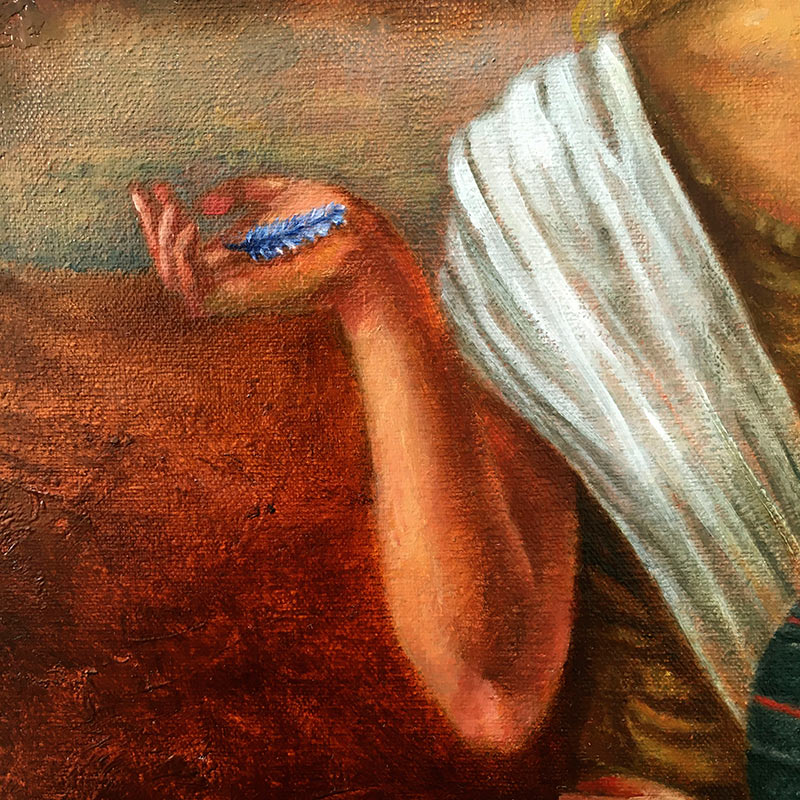 Fran De Anda - The Judgement (Detail 2)