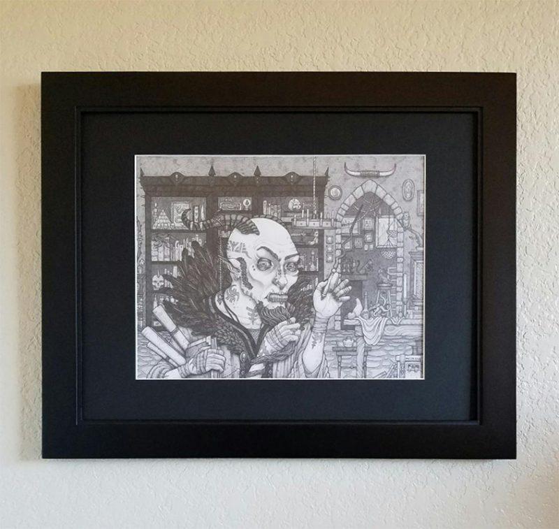 Michael R. Miller - Razule (Framed - Front)