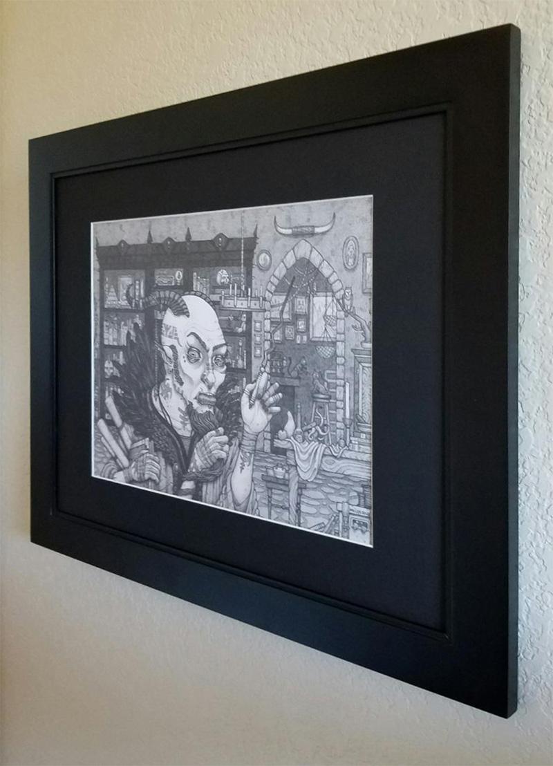 Michael R. Miller - Razule (Framed - Side)