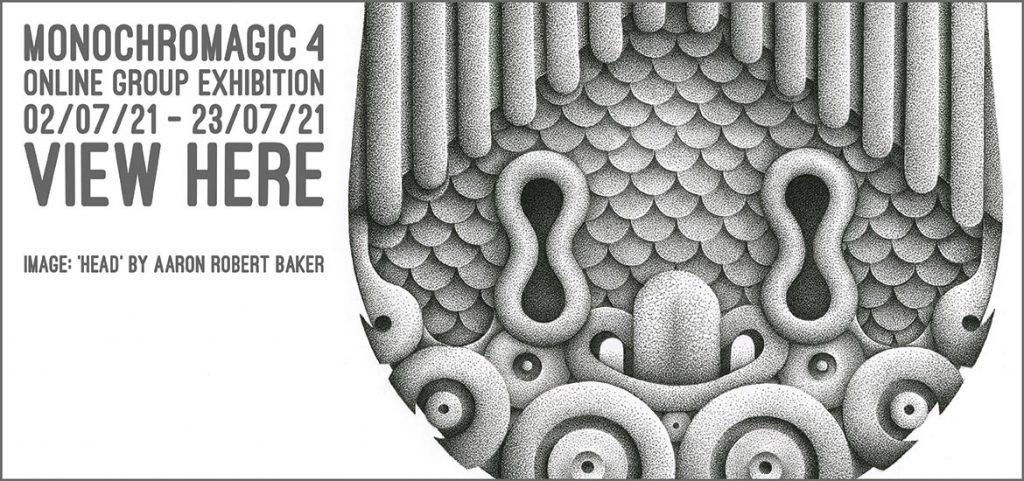 Monochromagic 4 - Website Banner (Aaron Robert Baker)