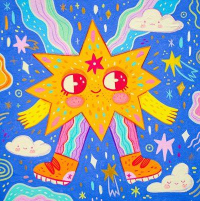 Natalia Cardona Puerta - Rainbow Stardust