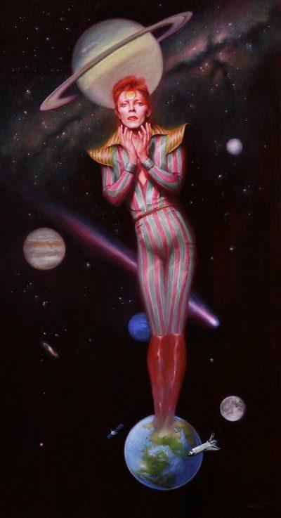 Theodora Daniela Capat - Ziggy Stardust, David Bowie