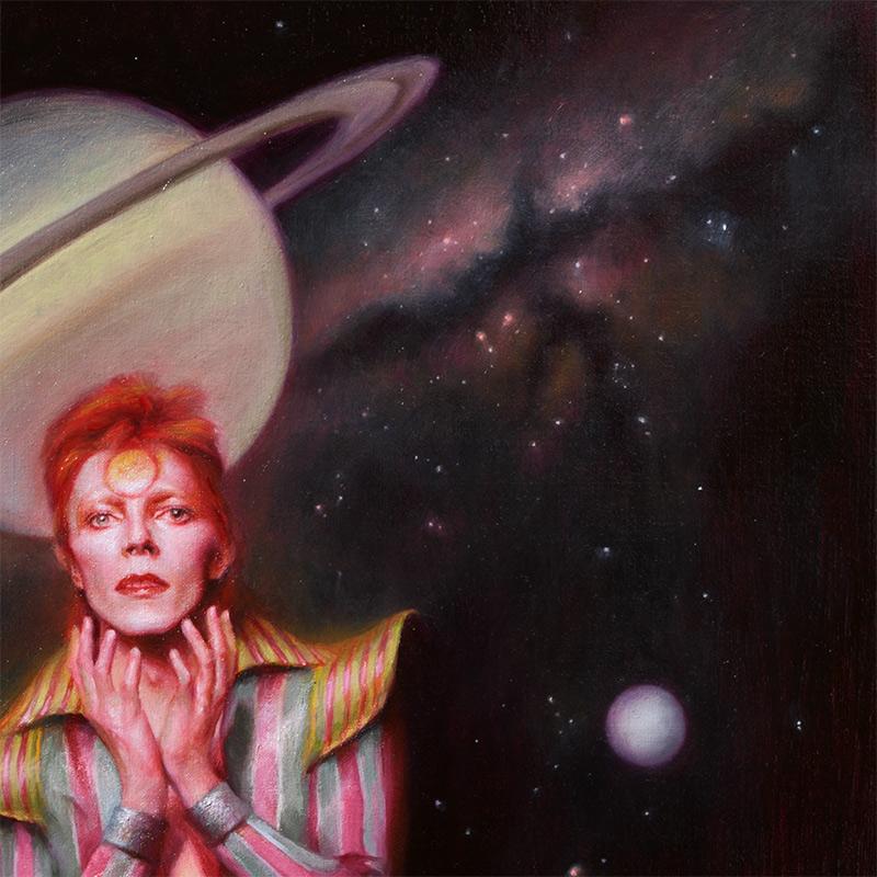 Theodora Daniela Capat - Ziggy Stardust, David Bowie (Detail 4)