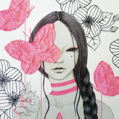 Anne Martwijit - Pink Threads