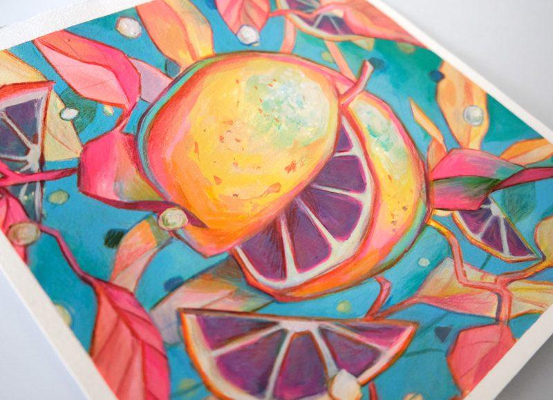 Ejiwa 'Edge' Ebenebe - Cosmic Citrus (Side View)