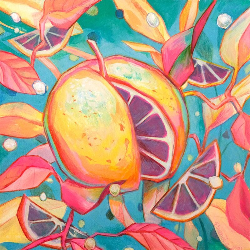 Ejiwa 'Edge' Ebenebe - Cosmic Citrus
