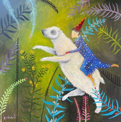 Emily Carew Woodard - White Bear