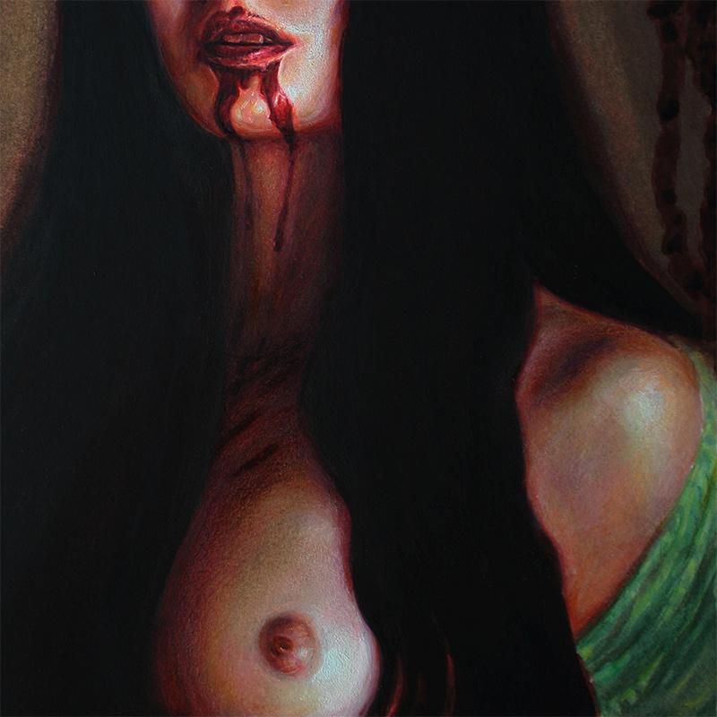 John Kelly Pevahouse - The Kiss of the Baobhan Sith (Detail 3)