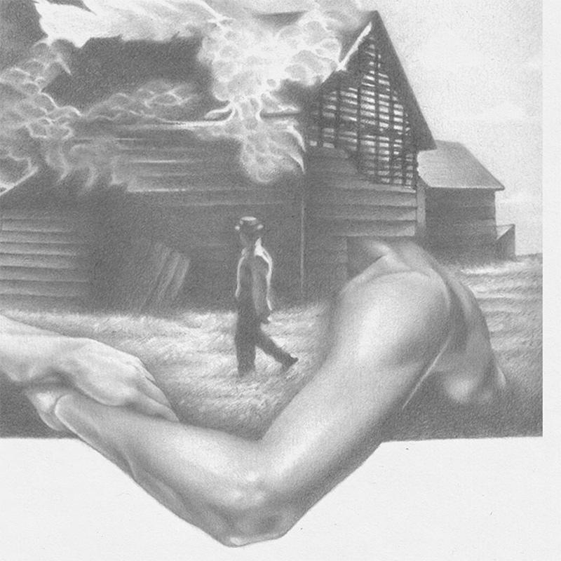 Kyle Cobban - Untitled V (Detail 2)