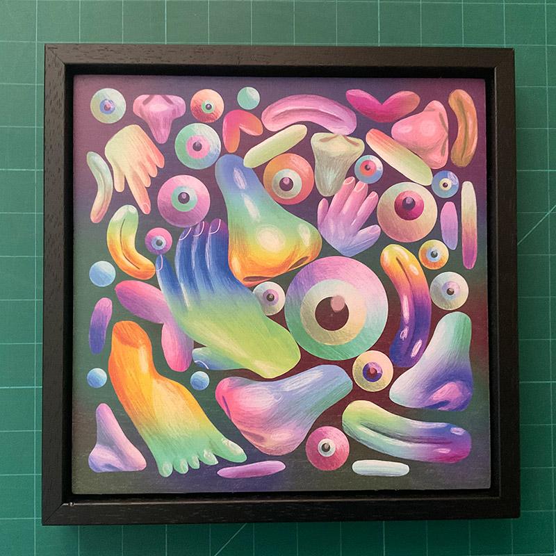 Scott Balmer - Randoms (Framed)
