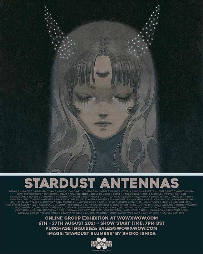 Stardust Antennas - Flyer (Shoko Ishida)