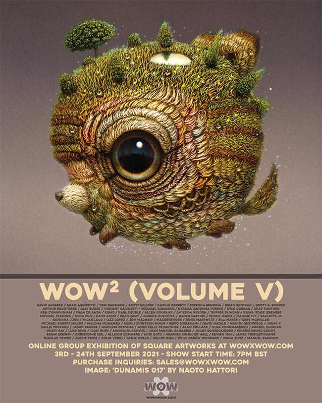WOW² (Volume V) - Flyer - Naoto Hattori