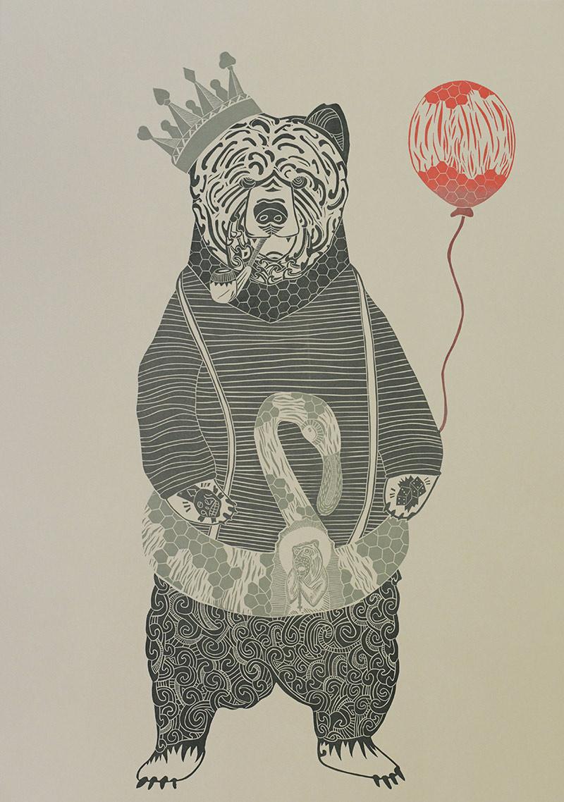 Wild Stork (Vytenis Semenas) - Inner Creature (Red Balloon)