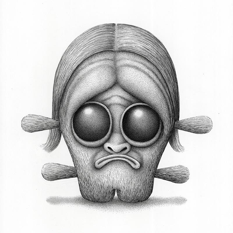 Aaron Robert Baker - Head 3