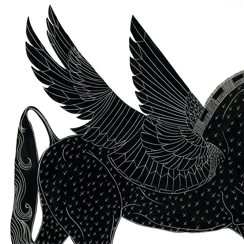 Cristina Bencina - Pegasus (Detail 1)