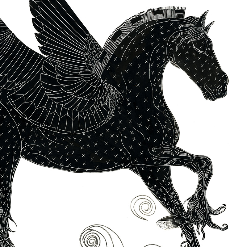 Cristina Bencina - Pegasus (Detail 2)