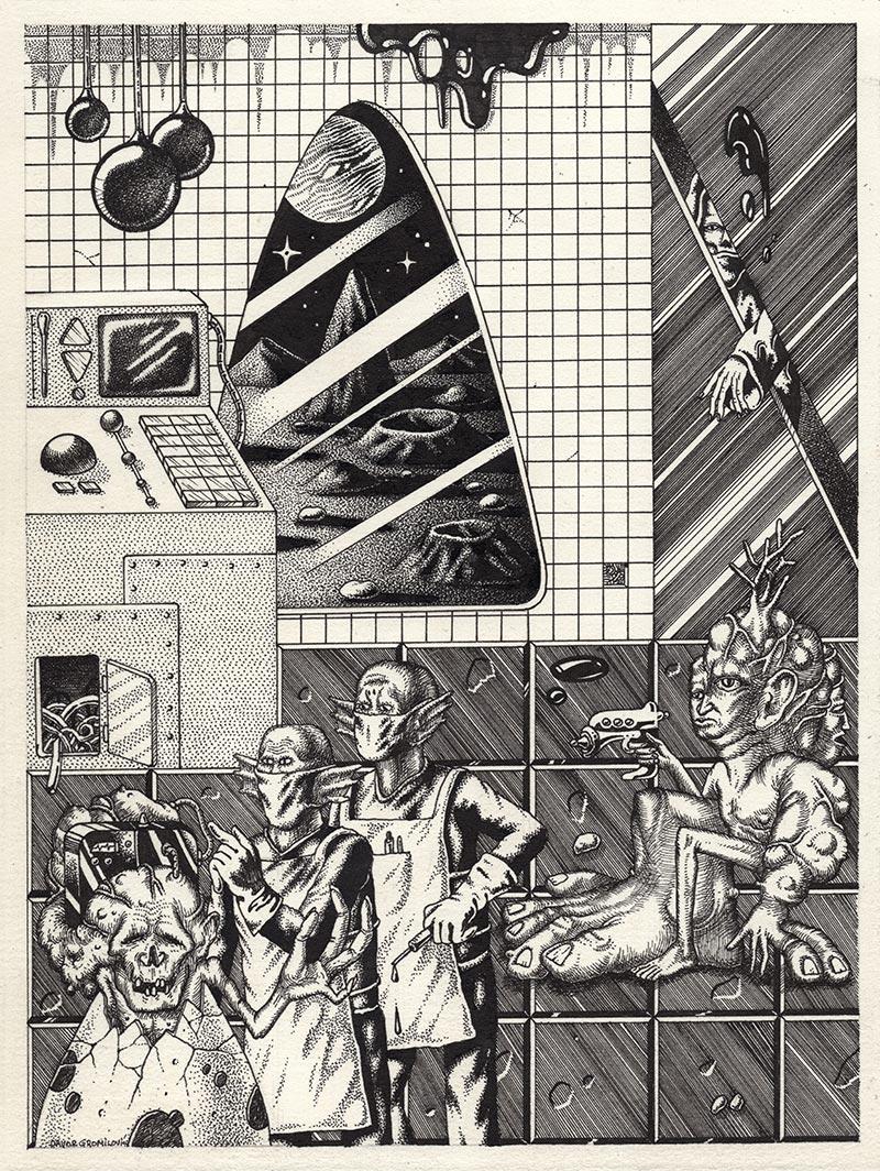 Davor Gromilovic - Secret Laboratory Tests (Border)