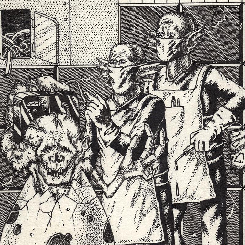 Davor Gromilovic - Secret Laboratory Tests (Detail 2)