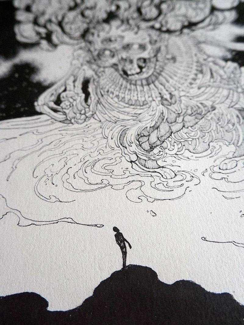 Diego Andrade - Mictlantecutli (Detail 3)