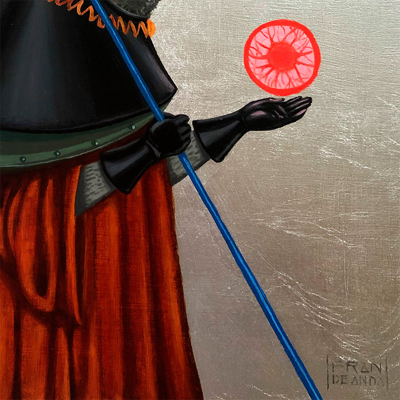 Fran De Anda - Lightning Hunter (Detail 2)