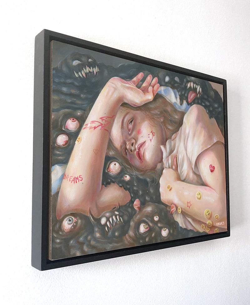 Hanna Jaeun - Monster Dreams (Framed - Side)