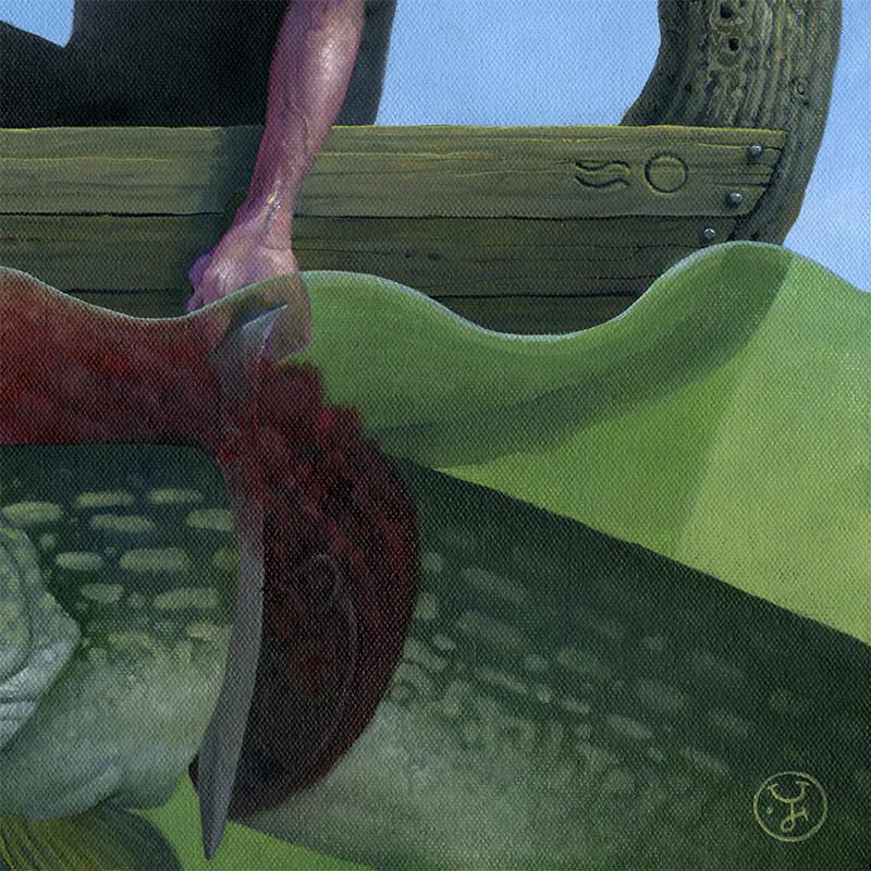 Jeff Christensen - The Giant Pike (Detail 4)