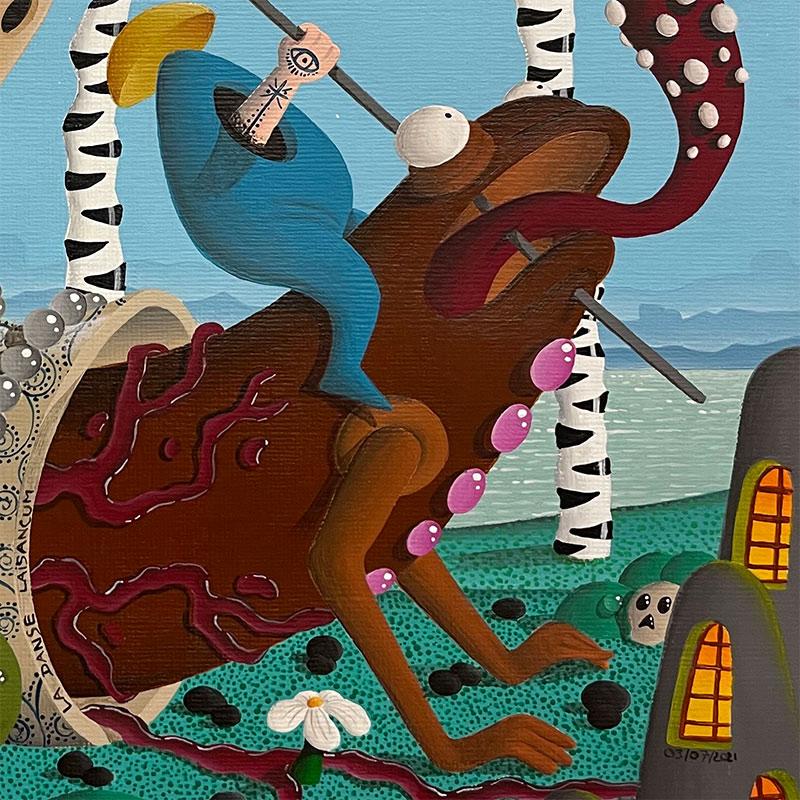 Jimmy P - La Danse Laisancum (Detail 3)