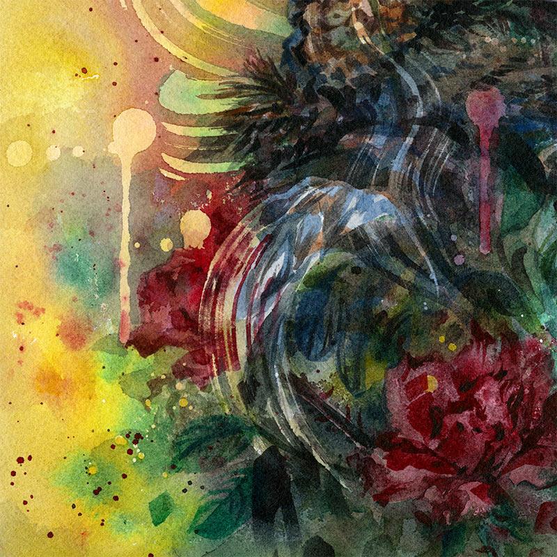 Joanna Barnum - Black Vulture Study (Detail 2)