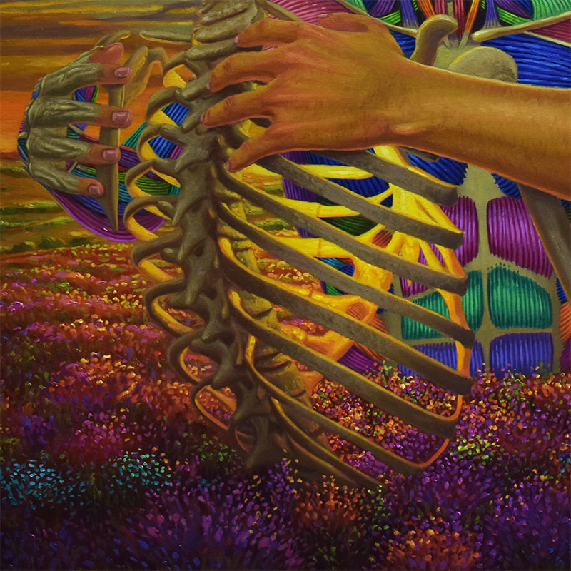 Marc Salamat - A Magical Mystery of Life (Detail 2)