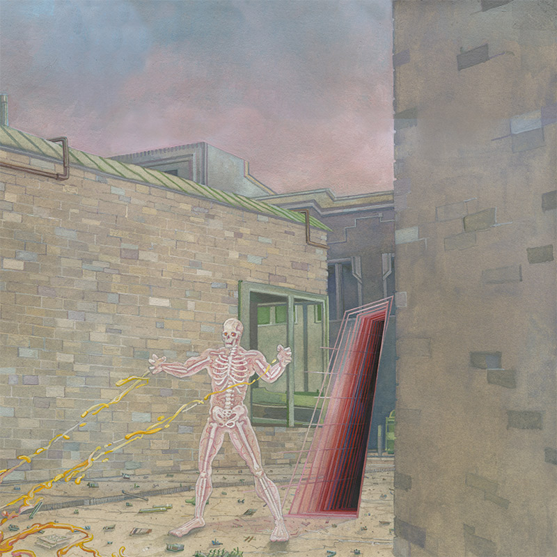 Michael Dandley - Outsider (Detail 2)